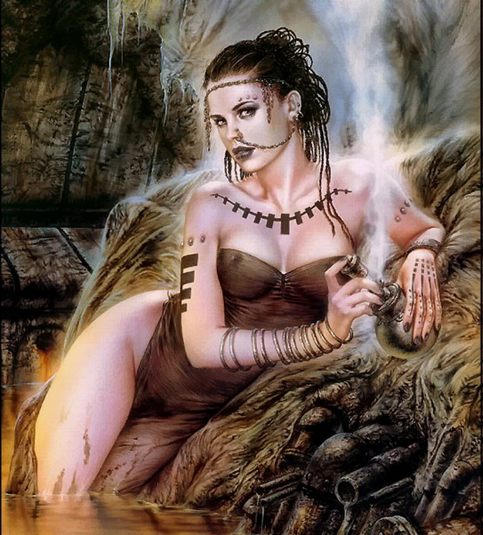 With luis royo heavy metal with